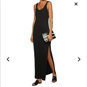 L'agence Black Maxi Dress
